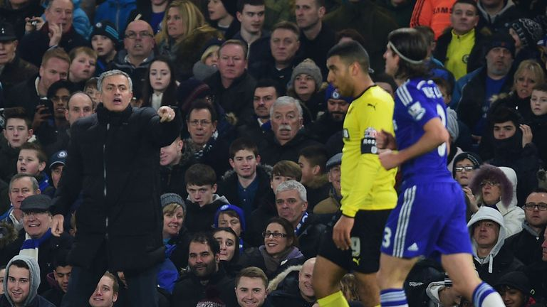 Jose Mourinho: Felt his side should have had a penalty in build-up to the second goal