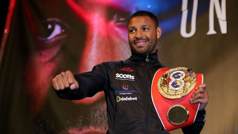 Kell Brook: At announcement of March fight