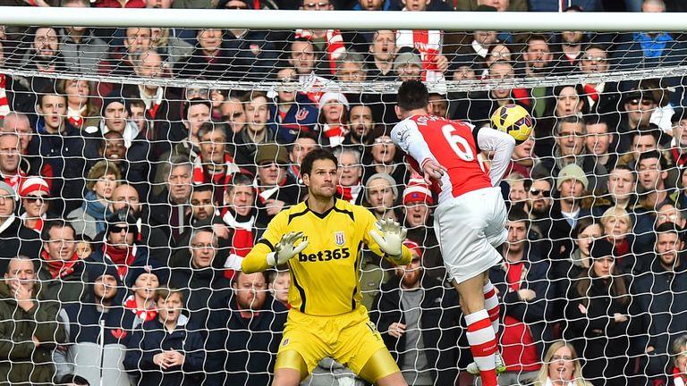 Laurent Koscielny has strengthened Arsenal's defence this season