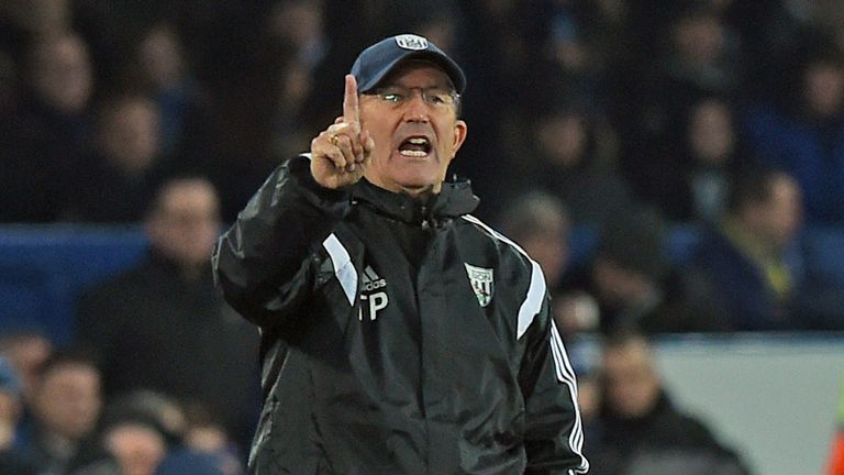 Tony Pulis returns to Selhurst Park with his West Brom side