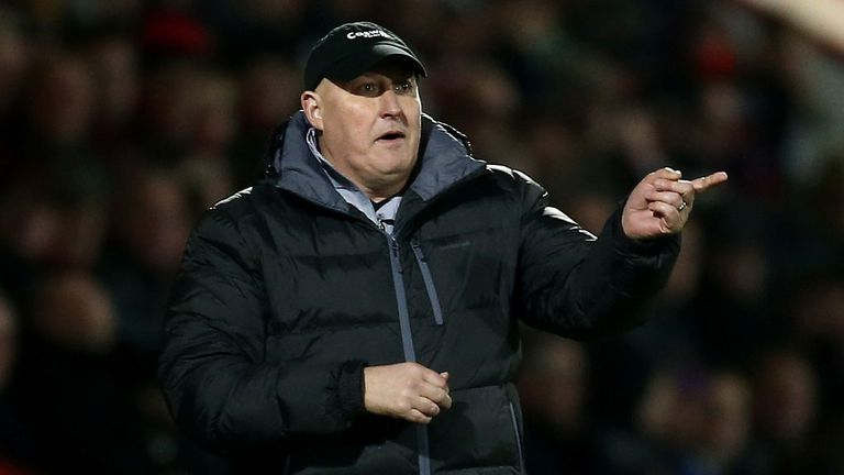 Russell Slade was impressed by Saturday's opponents