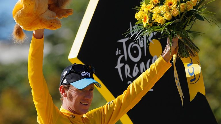 Wiggins became the first British winner of the Tour de France in 2012