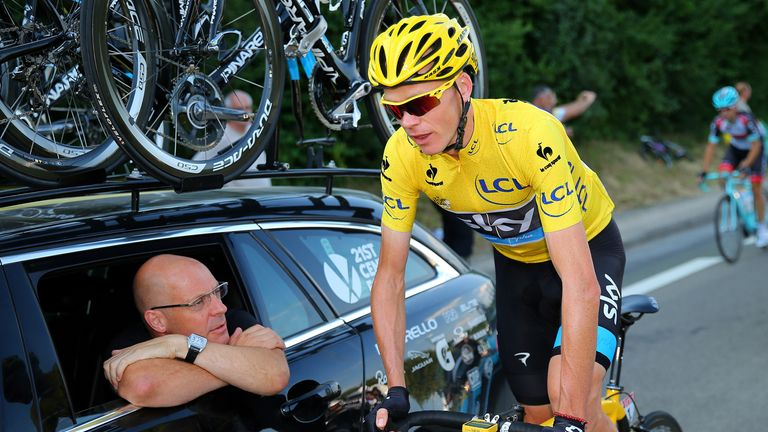 Sir Dave Brailsford has led Team Sky to two Tour de France wins