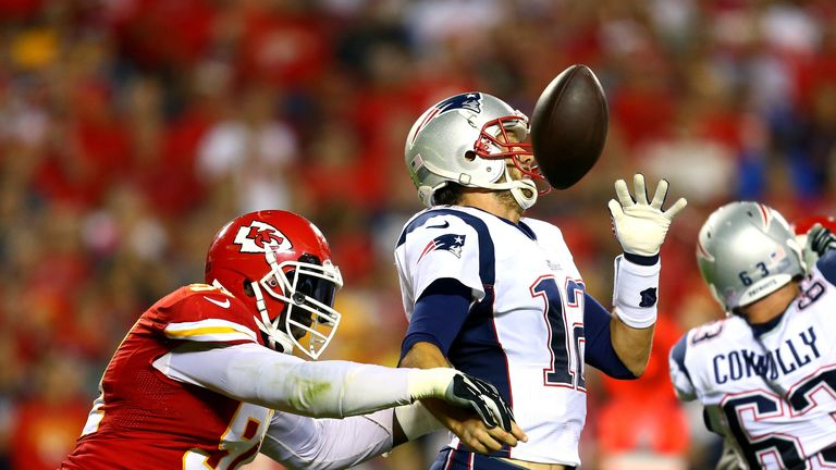 Brady has a disastrous outing against the Chiefs earlier this year
