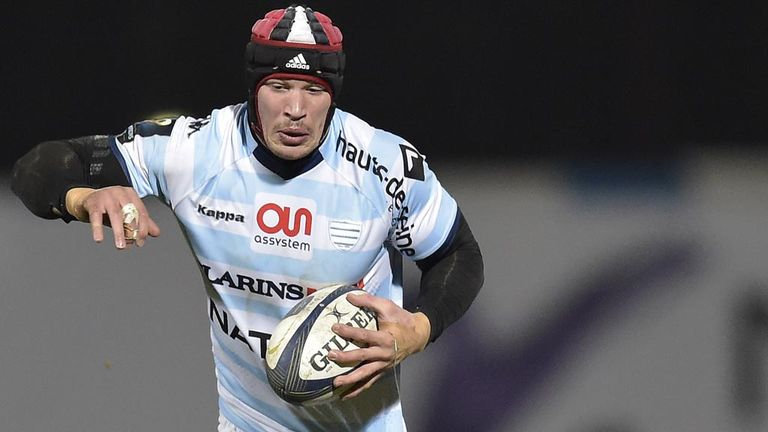 Racing-Metro's Wenceslas Lauret has been called up by France for their Six Nations opener against Scotland