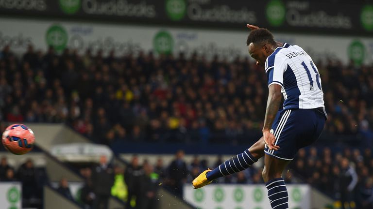 Saido Berahino: Scored four as West Brom survived an early scare
