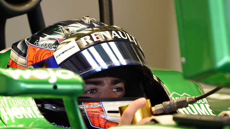 Will Stevens: Drove for Caterham in Abu Dhabi