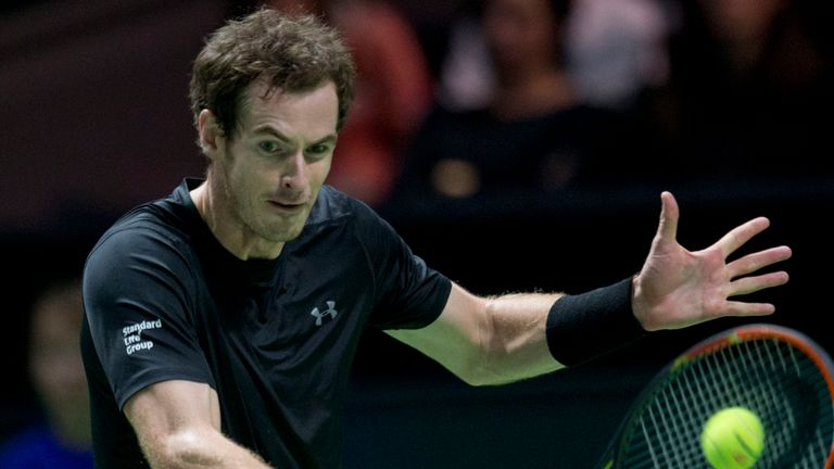 ABN AMRO: Andy Murray into Rotterdam quarter-finals after beating Vasek Pospisil  | Tennis News | Sky Sports