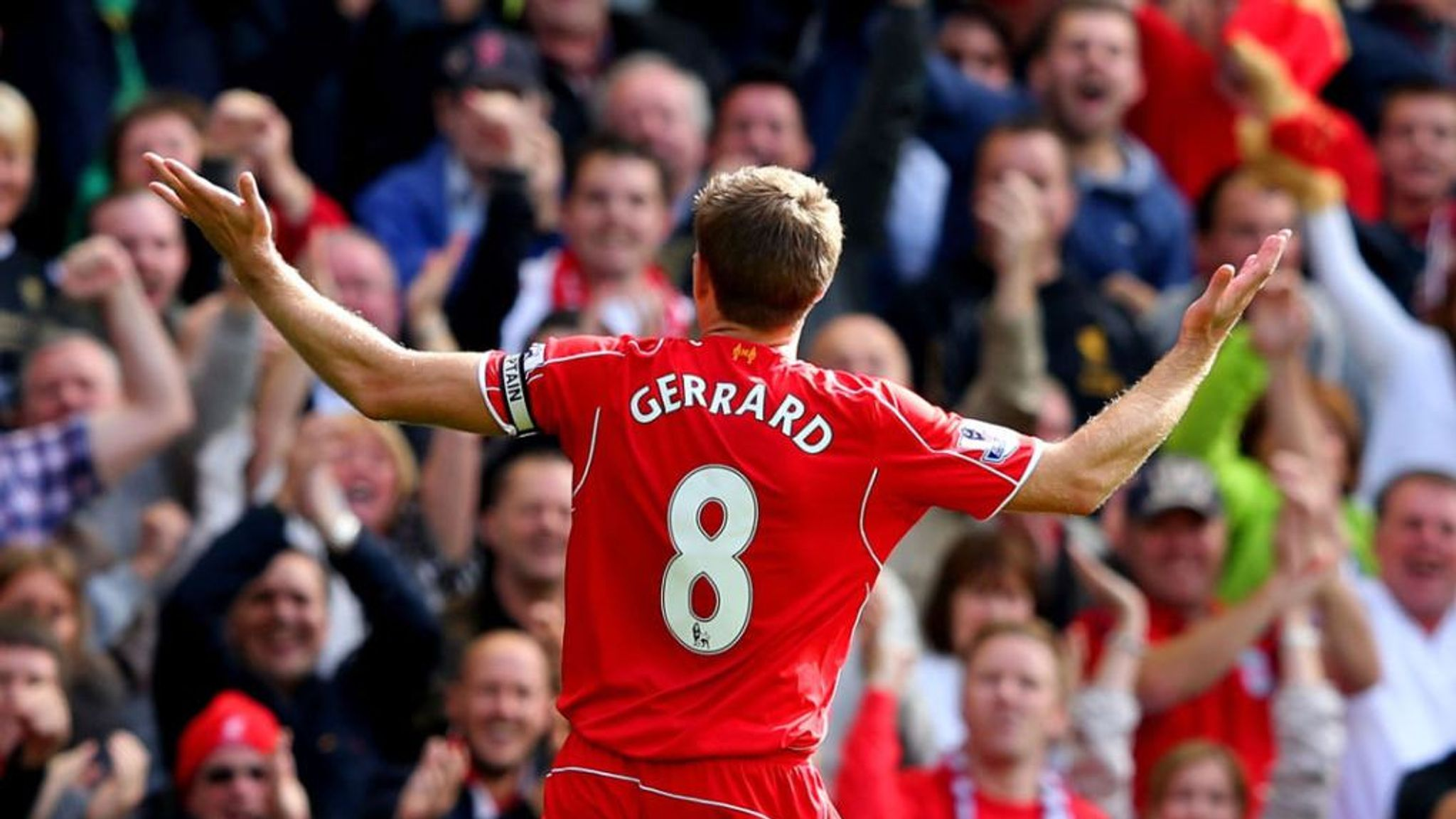 Steven Gerrard: A look back at the Liverpool captain's greatest ...
