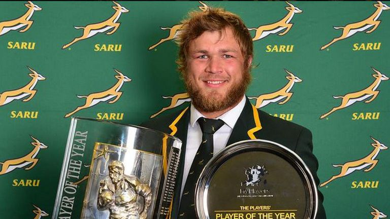 Duane Vermeulen: Developed into one of South Africa's most influential players.