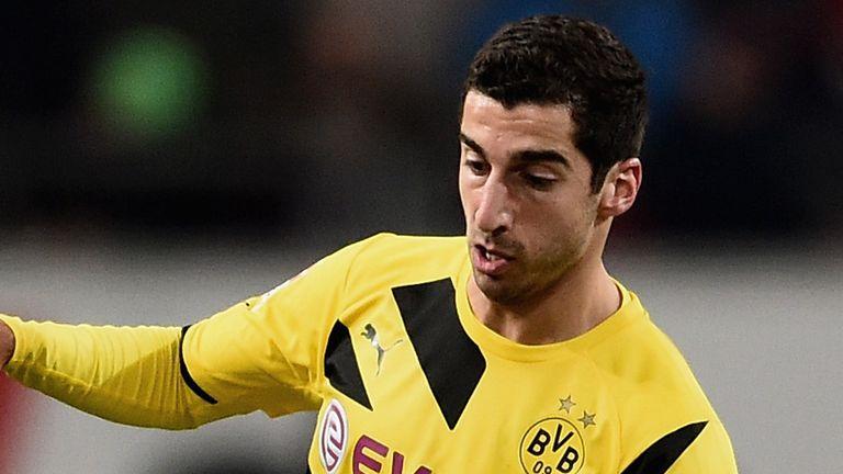 Henrikh Mkhitaryan: On target in Dortmund victory