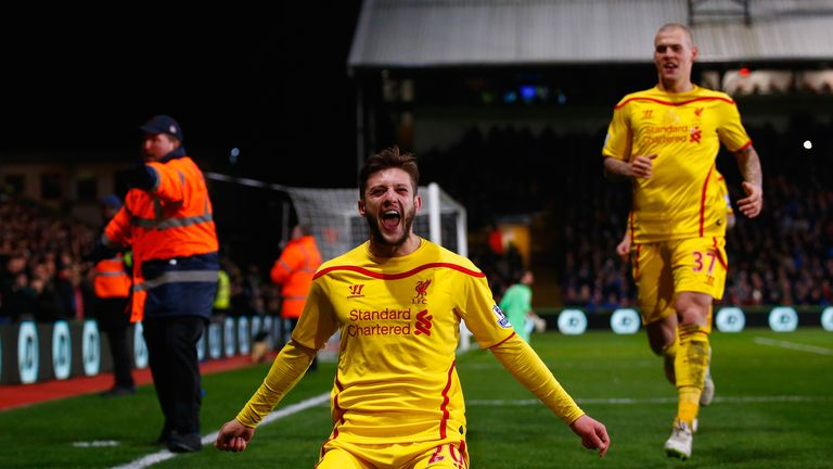 Adam Lallana: Put Liverpool 2-1 up from close range