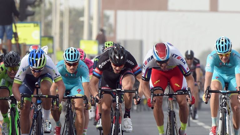 Alexander Kristoff won for the second time on stage four