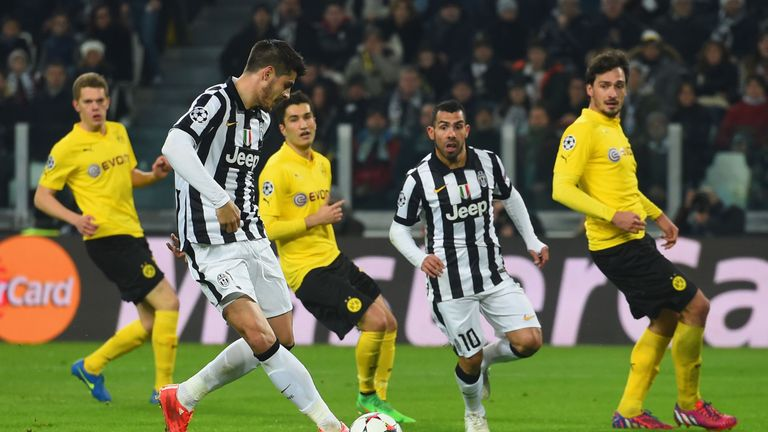 Juventus eliminated Borussia Dortmund from the Champions League