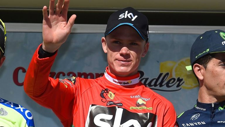 Chris Froome won the Ruta Del Sol in February but has struggled with his health since