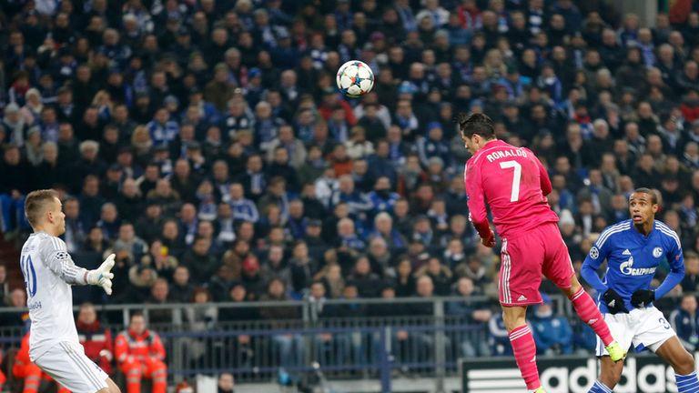 Cristiano Ronaldo scores Real Madrid's opener