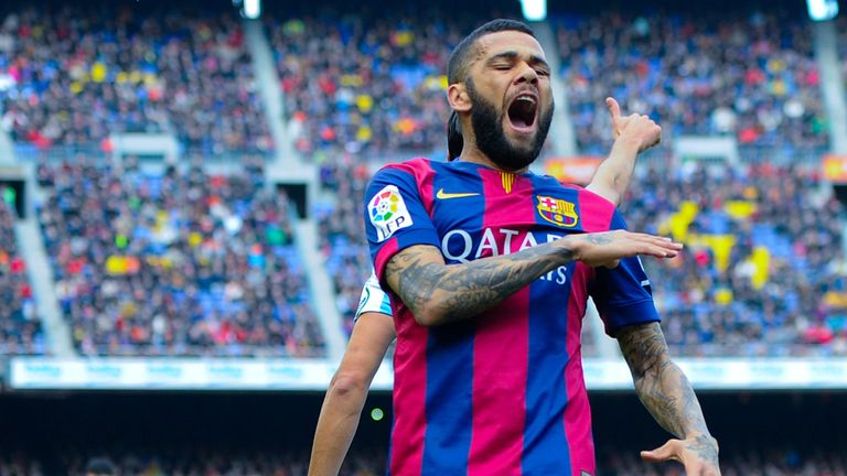 Manchester United target Dani Alves 'close to Barcelona exit', claims agent