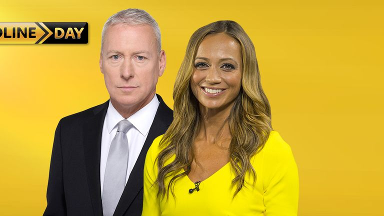 Jim White and Kate Abdo will be on air for the 6pm deadline