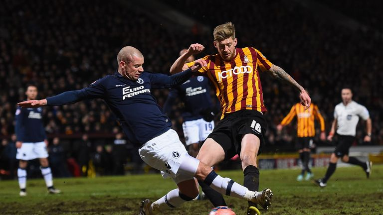 Jon Stead: Battles with the Bradford pitch