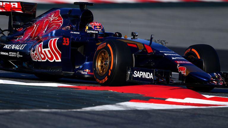 Max Verstappen of Toro Rosso