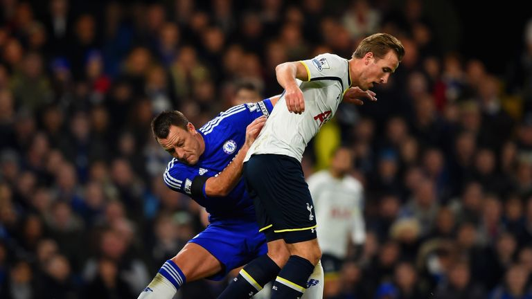 Harry Kane got the better of John Terry on New Year's Day but will it be different at Wembley?