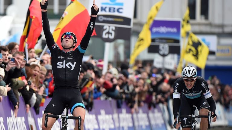 Ian Stannard defeated Niki Terpstra in a sprint for victory