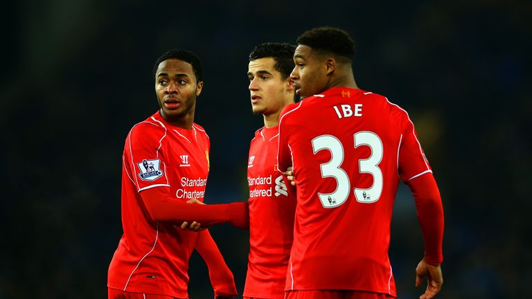 Brendan Rodgers has given plenty of game-time to young Englishmen Raheem Sterling and Jordan Ibe