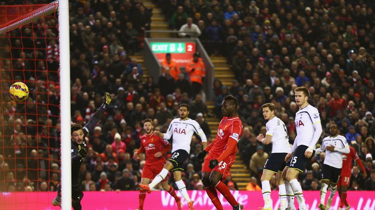 Mario Balotelli slots home the winner for Liverpool