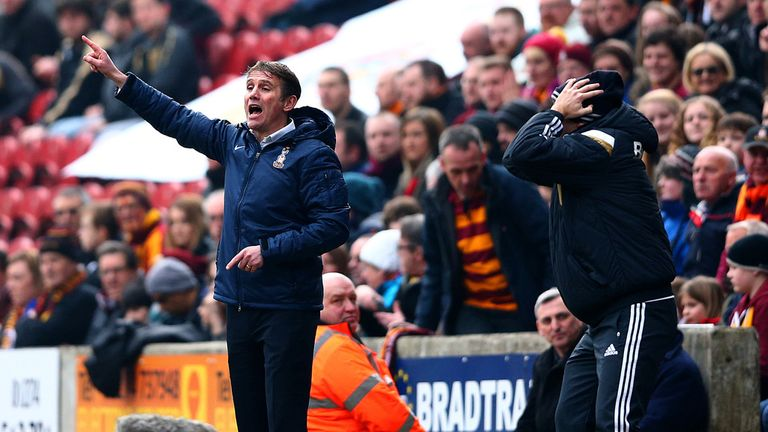 Phil Parkinson: Guided Bradford to a second win over Premier League opponents in the FA Cup