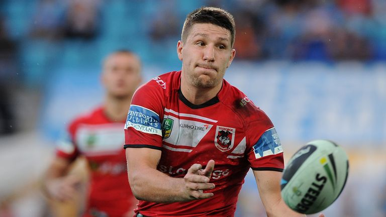 Gareth Widdop helped the Dragons to a sixth win in seven matches