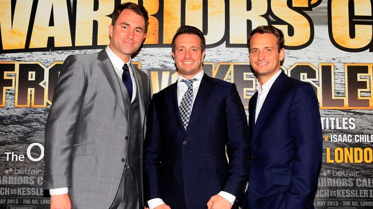 Eddie Hearn and Kalle and Nisse Sauerland have done a long-awaited deal