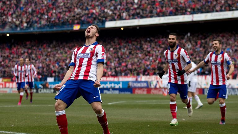 Saul Niguez capped a fine display with a stunning goal