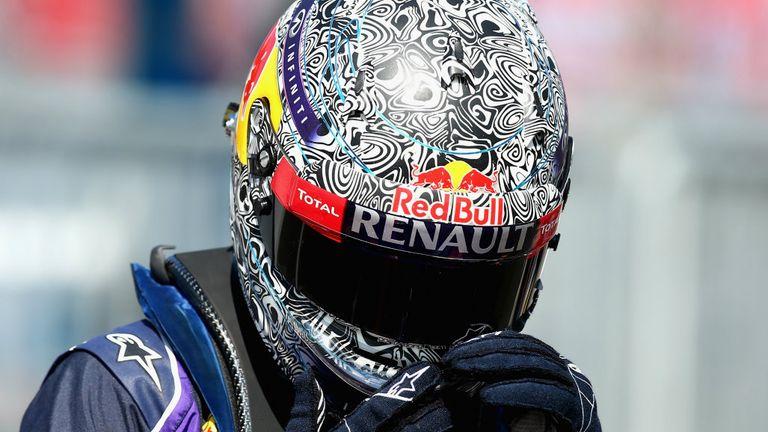 Sebastian Vettel's look at the Italian GP in September