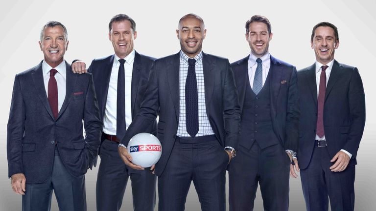 Sky Sports pundits: on your screens covering 126 live Premier League games per season
