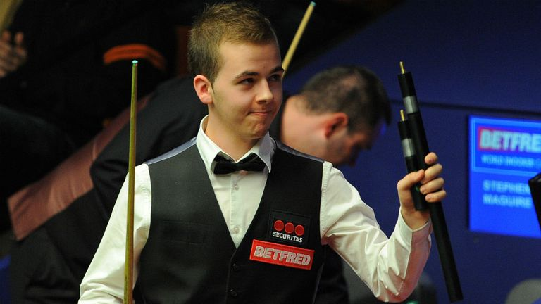 Luca Brecel: The teenager is through to his first ranking event semi-final