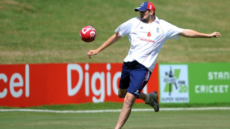Steve Harmison can ping a football about nicely but has got considerably slower with age