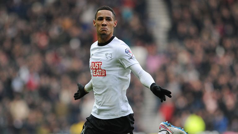 Tom Ince: Scored twice to help Derby draw