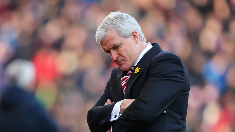 Mark Hughes: Stoke boss rued a missed opportunity at Stamford Bridge
