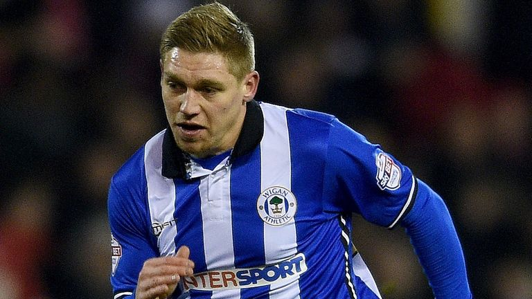 Martyn Waghorn: Scored Wigan's late equaliser against Bolton