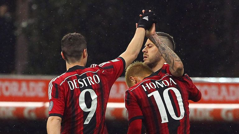 e3234e908 Serie A round-up  Jeremy Menez at the double for AC Milan