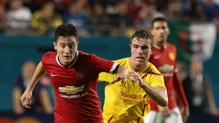 Ander Herrera may need to play deeper against Jordan Henderson and the rest