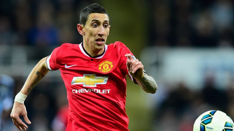Di Maria failed to meet up with the rest of the United squad for their pre-season tour of the United States