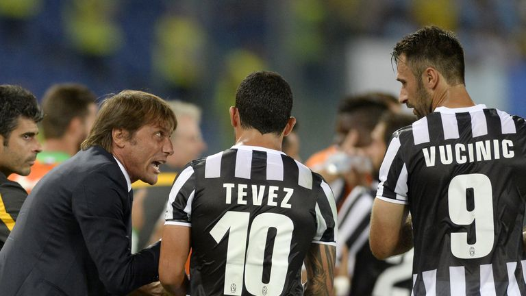 Antonio Conte was impressed by Carlos Tevez's dedication in training last season