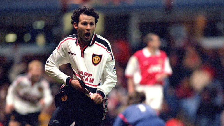 Ryan Giggs scored the winner against Arsenal in 1999