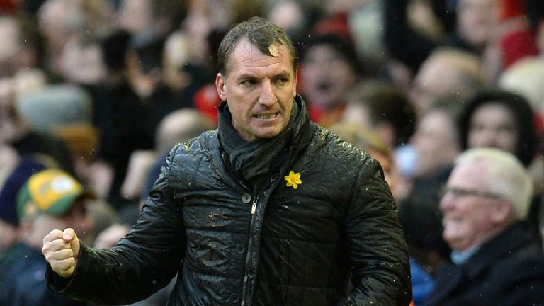 Brendan Rodgers: Masterminded a huge turnaround at Anfield