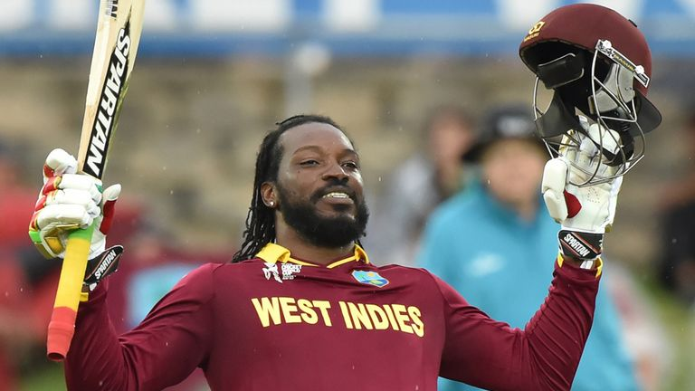 West Indies' Chris Gayle will be at the ICC World T20