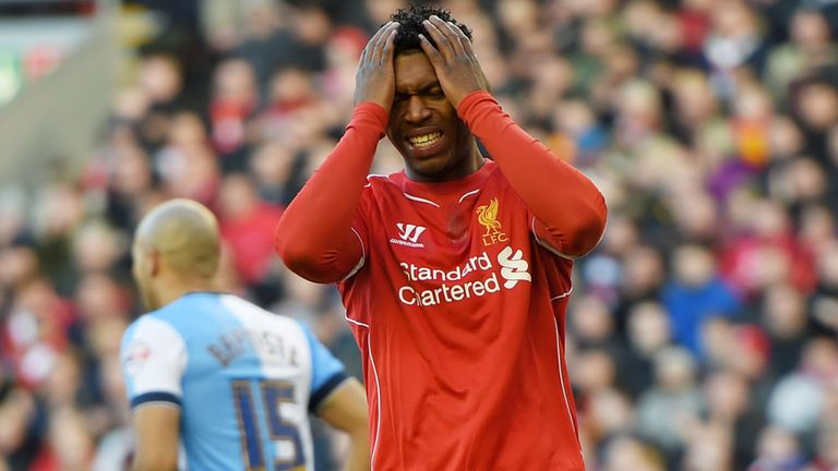 Sturridge has had 21 reported injuries since joining Liverpool in 2013