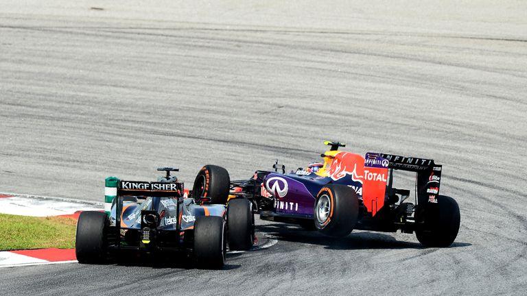Nico Hulkenberg: Hits Daniil Kvyat in Malaysia