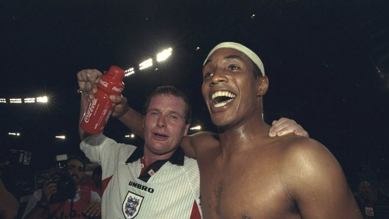 Paul Ince insisted on entering the pitch while putting his shirt on, after coming out of the changing room last