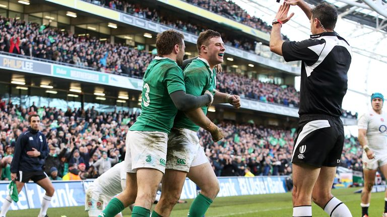 Robbie Henshaw scored the only try of the game